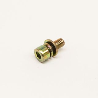 Picture of 17888 BOLT M5X0.8X12 MM SHCSSEMS GR8.8 YL ZN F-T