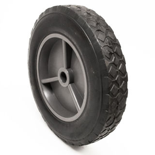 Picture of 15856 WHEEL GREY 8 IN OD X 5/8 IN ID RUBBER