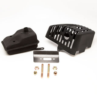 Picture of 13112 KIT MUFFLER STRAIGHT EJECTION 43/51CC WI